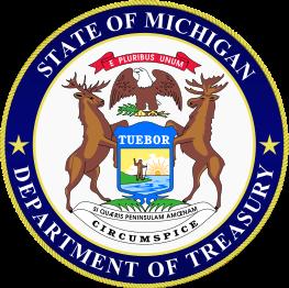 MI Dept. Of Treasury Seal