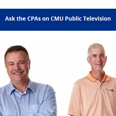 Ask the CPAs on Feb. 15th
