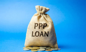 PPP Loan Mony Bag