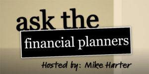 Ask the financial planner